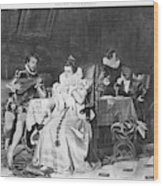 Lord Darnley/mary Stuart Wood Print