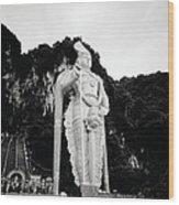 Lord Muruga Wood Print