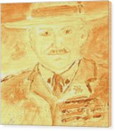 Lord Robert Baden Powell And Scouting 3 Wood Print
