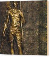 Lord Sri Ram Wood Print
