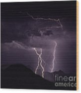 Lordsburg     New Mexico Wood Print