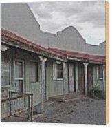 Lordsburg Nm Hotel 1 Wood Print