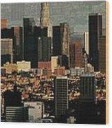 Los Angeles Classic Wood Print
