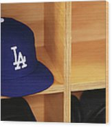 Los Angeles Dodgers V Arizona Wood Print