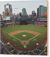 Los Angeles Dodgers V. San Diego Padres Wood Print