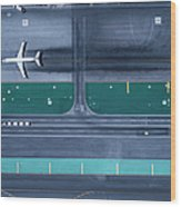 Los Angeles International Airportlax Wood Print