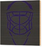 Los Angeles Kings Goalie Mask  Wood Print