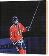 Los Angeles Kings V Chicago Blackhawks Wood Print