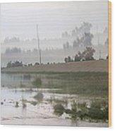 Los Angeles Riverbed  / Multi Parallel Effect Wood Print