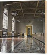 Los Angeles Union Station Interior Wood Print