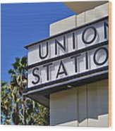Los Angeles Union Station Wood Print