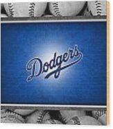 Los Angles Dodgers Wood Print by Joe Hamilton