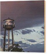 Los Lunas Water Tower Wood Print