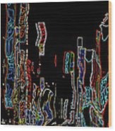 Losing Equilibrium - Abstract Art Wood Print