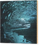 Lost And Frozen World Wood Print
