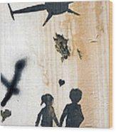 Lost Childhood Wood Print