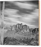 Lost Dutchman State Park - Arizona Wood Print