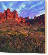 Lost Dutchmans State Park Arizona Wood Print