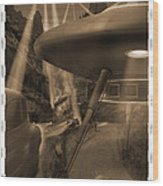 Lost Film 35 Mm Wood Print by Mike McGlothlen
