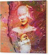Lost In Art Wood Print