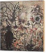 Lost In The Dark Wood Print by Henry Keller