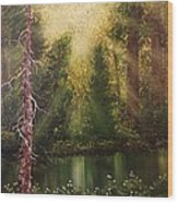 Lost In Thought Wood Print