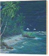 Lost Island Wood Print