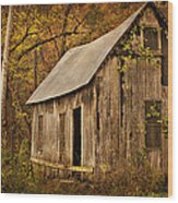 Lost Valley School Wood Print