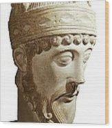 Lothair 941-986. King Of France Wood Print