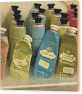 Lotions And Potions Wood Print