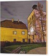 Lotrscak Tower Zagreb Famous Landmark Wood Print