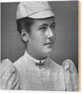 Lottie Dod (1871-1960) Wood Print