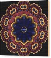 Lotus Bloom Wood Print