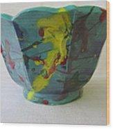Lotus Bowl Plant Pot Ceramic Wood Print