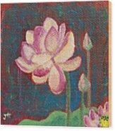 Lotus Dream Wood Print