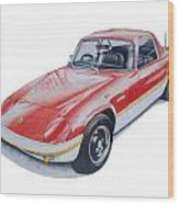 Lotus Elan Sprint Wood Print