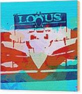 Lotus F1 Racing Wood Print
