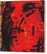 Lotus Queen Wood Print