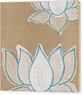 Lotus Serenity Wood Print