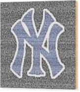 Lou Gehrig Speech Mosaic Wood Print