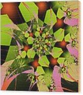 Loud Bouquet Wood Print
