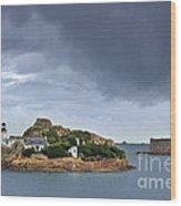 Louet Island 1 Wood Print