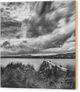 Lough Foyle View Wood Print