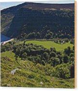 Lough Tay Below Luggala Mountain Wood Print