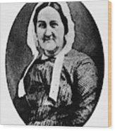 Louisa Whitman (d Wood Print
