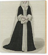 Louise Adelaide D'orleans Mademoiselle Wood Print
