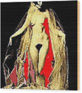 Louise Brooks Nude Circa 1928 Wood Print