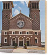 Louisiana Church Wood Print
