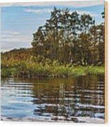 Louisiana Lake Wood Print
