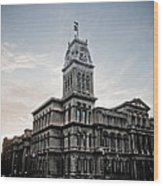 Louisville City Hall Wood Print